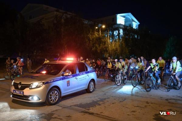 Многие приехали на велопарад из других городов