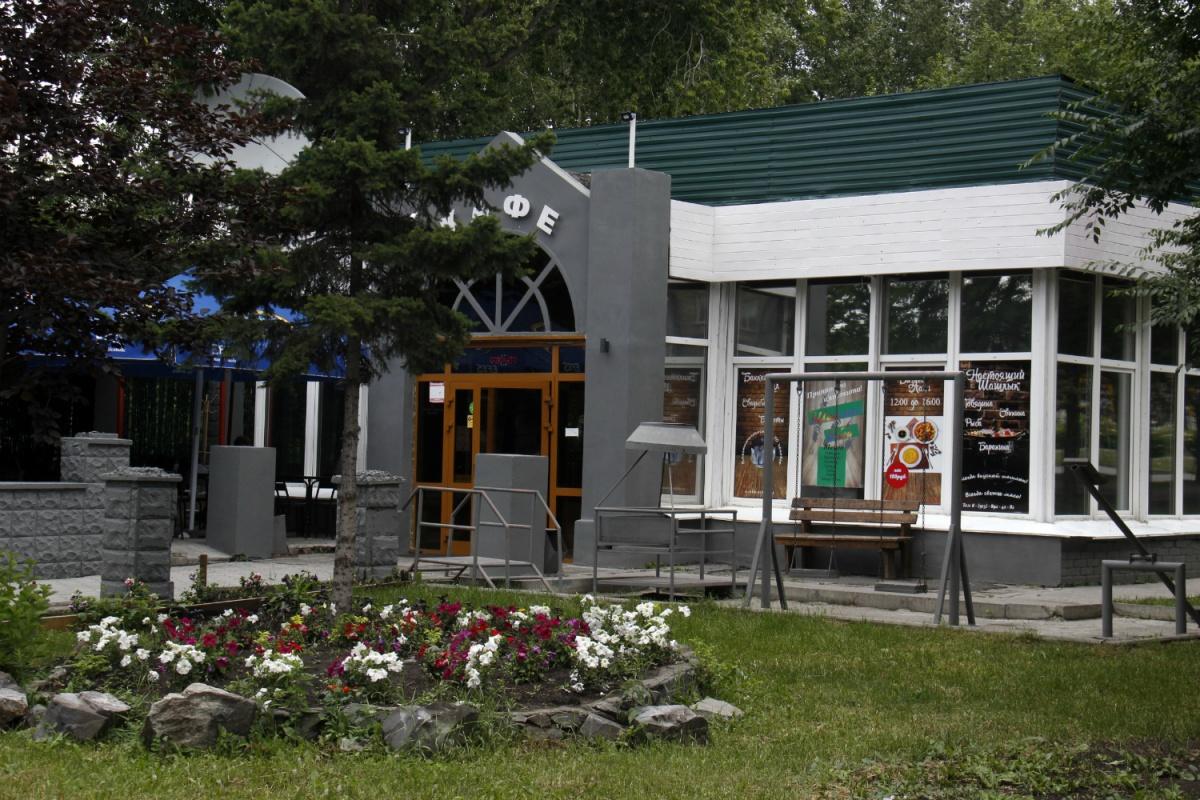 Кафе на углу парка стоит с 70-х годов