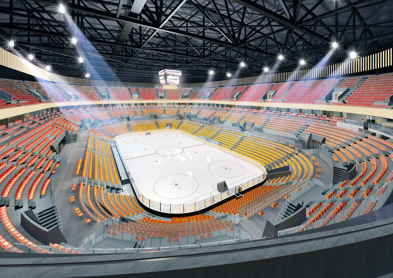 Так арена будет выглядеть изнутри