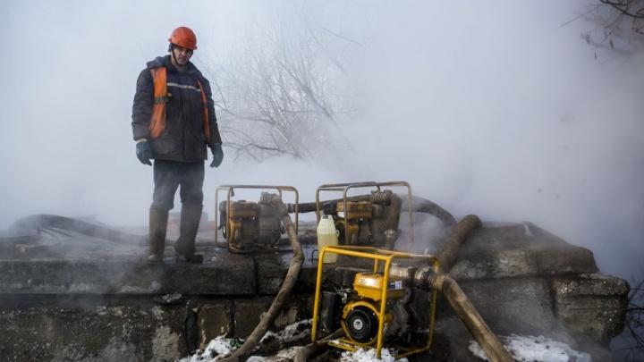 Больше 90 домов в двух районах остались без горячей воды из-за ремонта теплотрасс