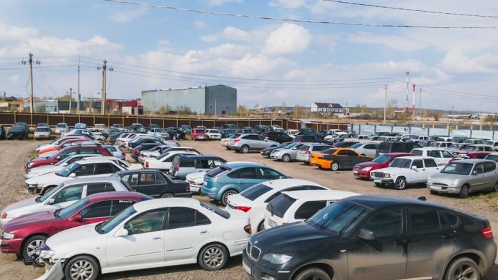 Красноярский край оказался на 11-м месте по числу проданных с рук машин в стране
