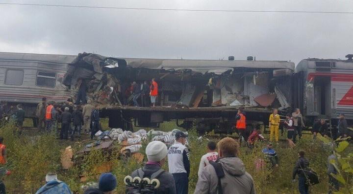 В аварии с поездом в ХМАО пострадал житель Свердловской области