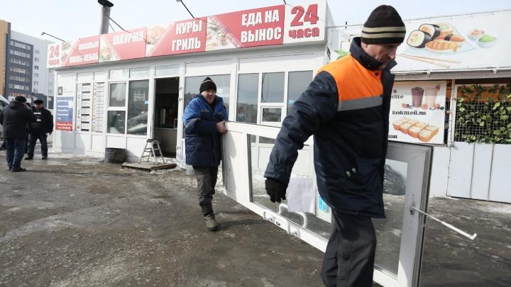 В Челябинске повторно появившиеся ларьки будут сносить без предупреждения