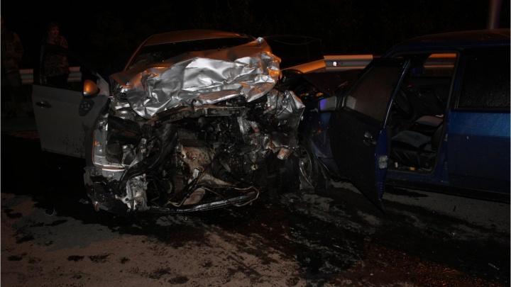 На шоссе Тюнина в Кургане произошло смертельное ДТП