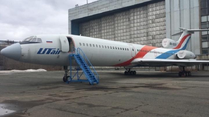 Самолет экс-губернатора Самарской области Титова опять выставят на продажу
