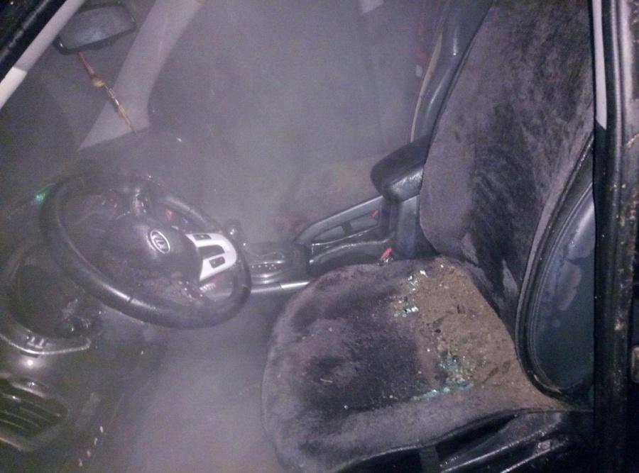 ВОмске затопило кипятком машину