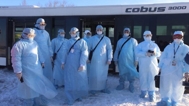 В челябинском Минздраве рассказали, как службы должны встречать самолёты с больными коронавирусом