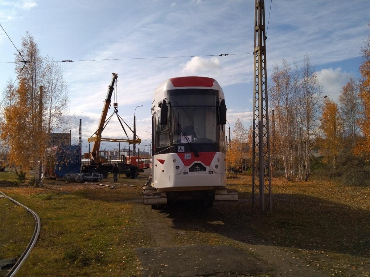 Сначала испытания нового трамвая будут проводиться на территории депо