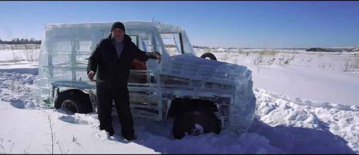 Скриншот видео«Что?!?! Стреляют из РПГ в ледяной Гелик»