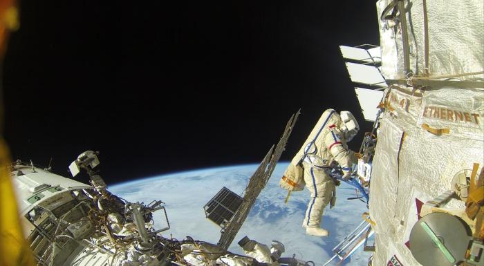 Сергей Прокопьев впервые выйдет в открытый космос