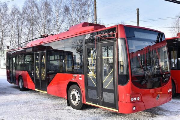 Новые троллейбусы планируют пустить по центральным маршрутам