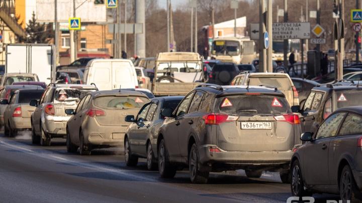В Самаре водителей, использующих газ вместо бензина, предложили освободить от транспортного налога