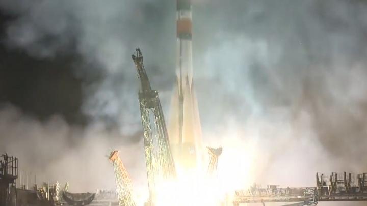 С космодрома Байконур успешно запустили самарскую ракету «Союз»