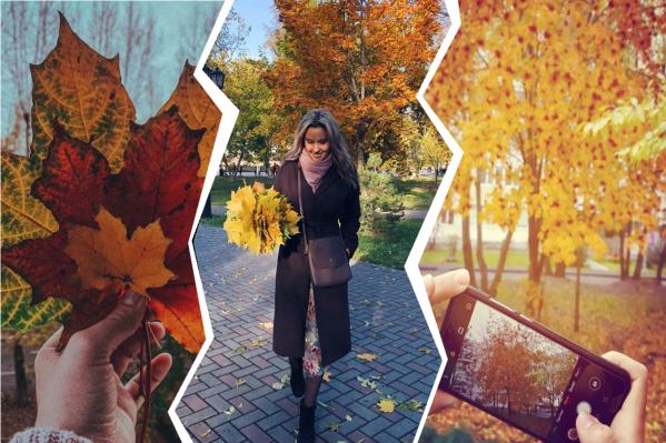 Тюменцы гуляют в парках, пьют горячий кофе и делают невероятно красивые кадры. А чем вам запомнятся эти тёплые осенние дни?