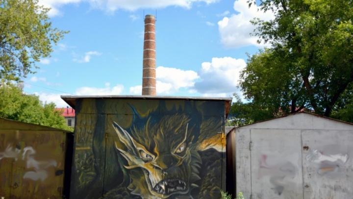 В Башкирии появился дракон