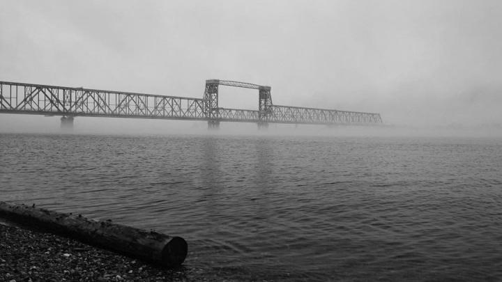 Накрыло с головой: подборка фотографий туманного Архангельска