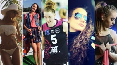 В «Уралочку» пришли пять новеньких волейболисток, и все красотки. Публикуем горячие фото спортсменок