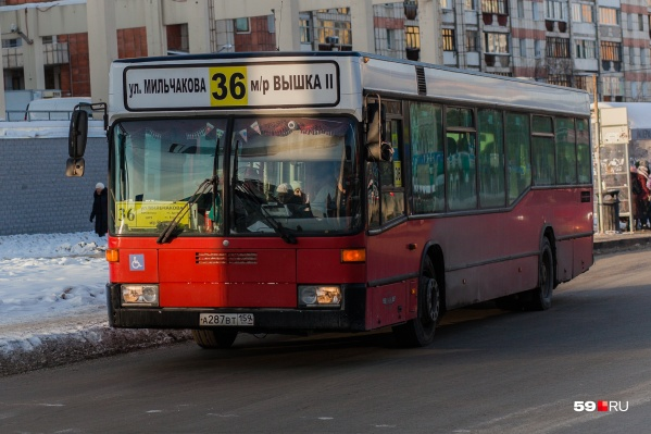 Автобус № 36 будет ездить через улицы Революции и Лебедева