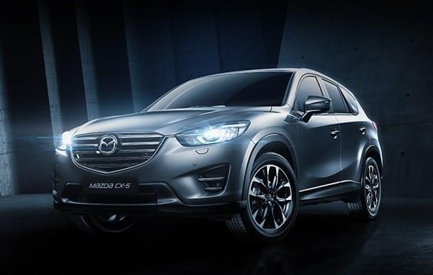 Екатеринбург встретил новую версию Mazda CX-5