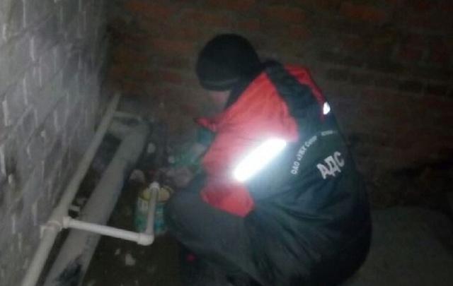 В Уфе в одной из квартир прорвало радиатор отопления