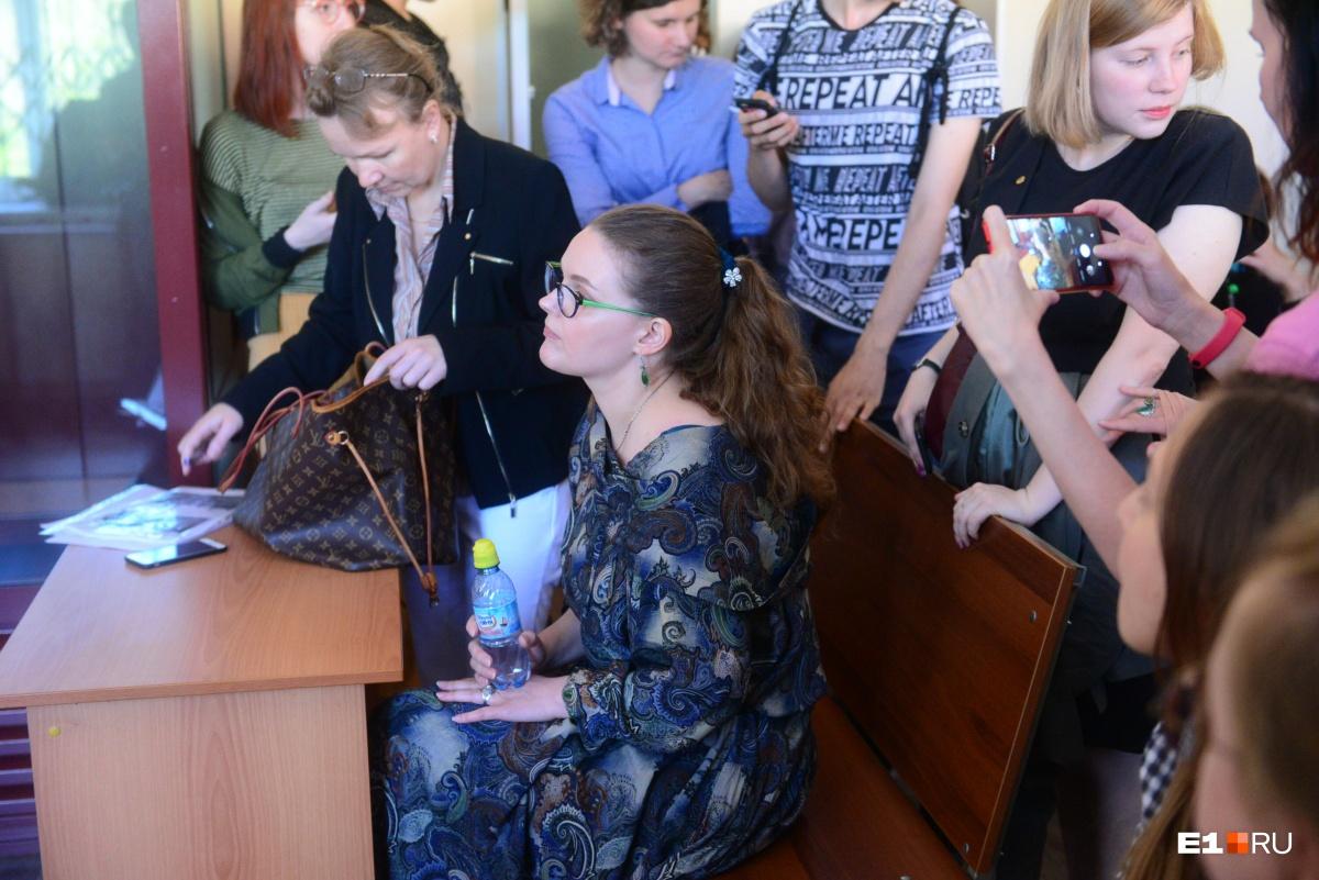 Адвокат просила отменить административное производство по делу Балтиной