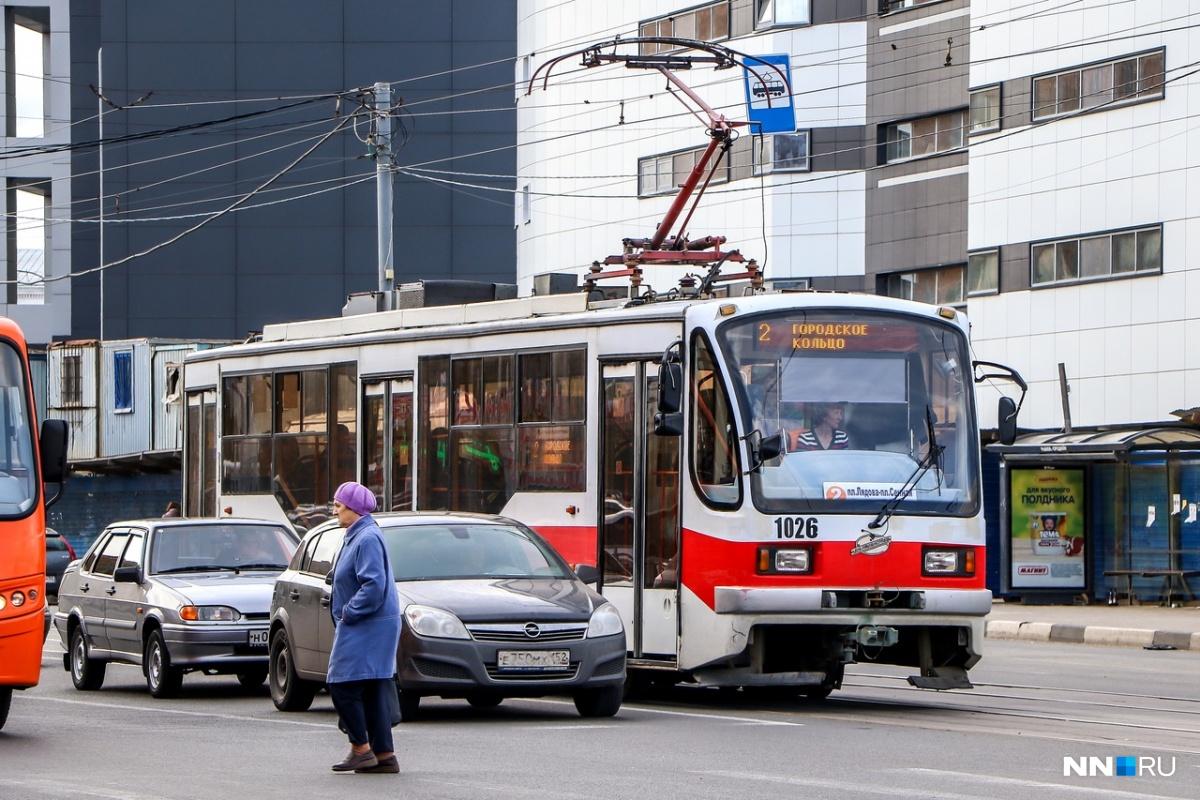 Трамвай № 2 будет курсировать по укороченному маршруту