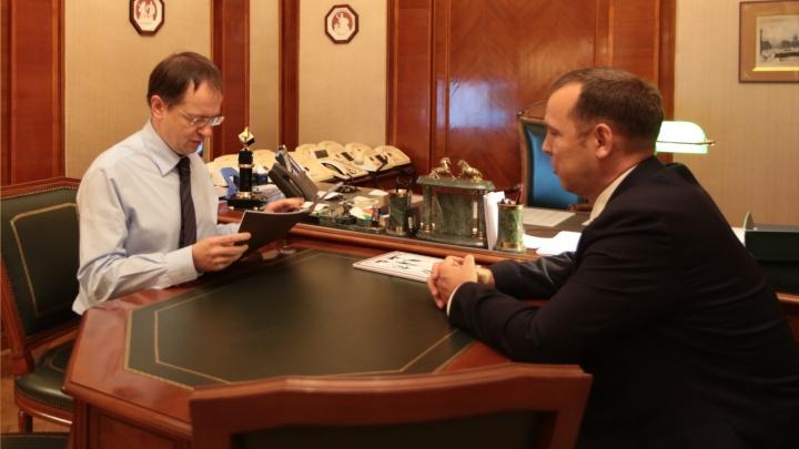 Шумков попросил министра культуры России помочь с реконструкцией Успенского Далматовского монастыря