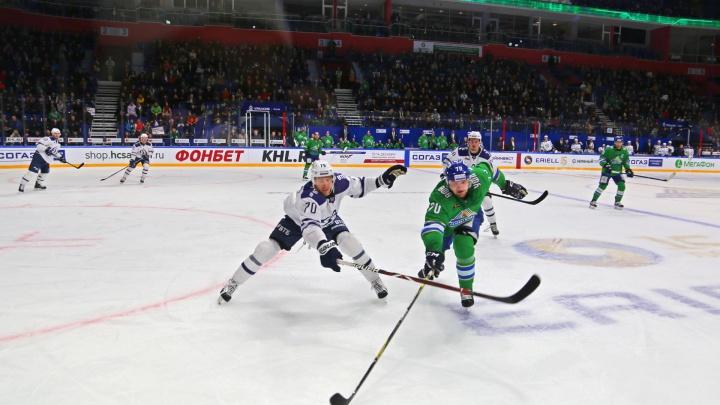 Финальный бой: «Салават Юлаев» встретится с московским «Спартаком» в последней игре домашней серии