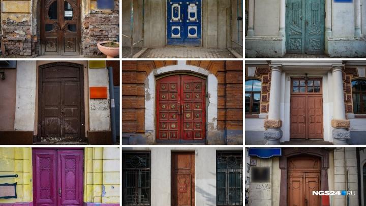 «Дверь в прошлое»: любуемся 100-летними дверями в центре Красноярска и угадываем, куда они ведут