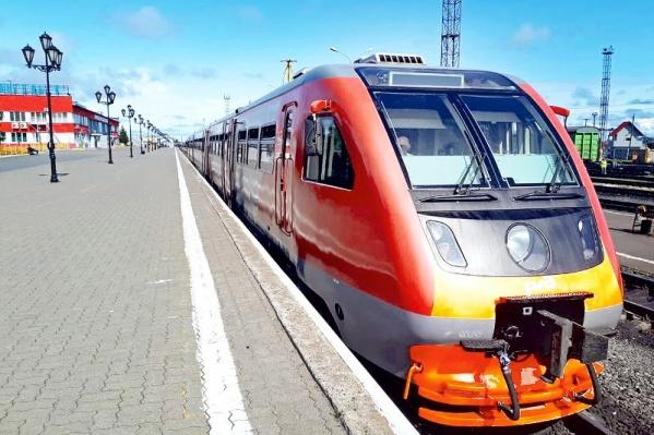 Новые рельсовые автобусы начнут возить пассажиров с 3 августа