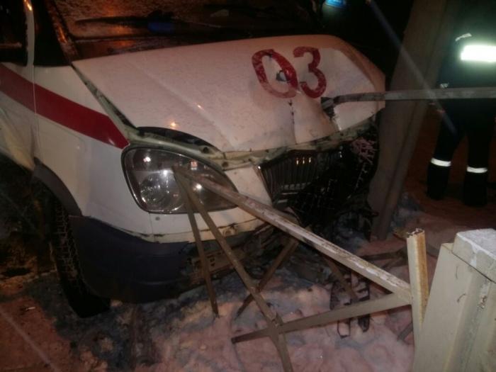 Авария произошла утром в субботу, 23 декабря
