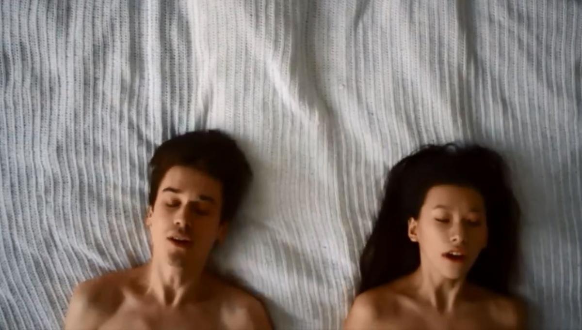 Иван и Яна. Кадр из клипа «Сансары»
