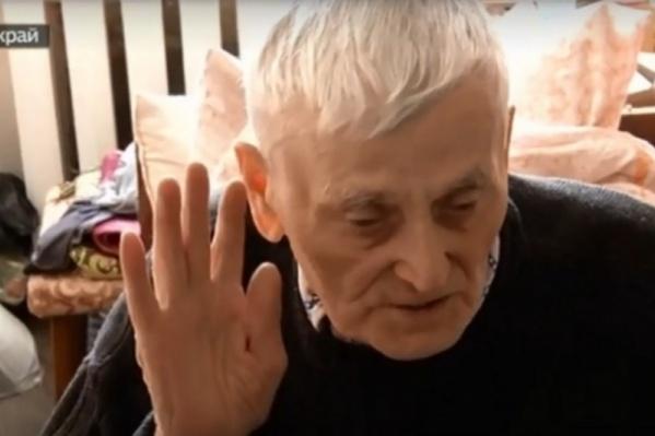 Василий Ушаков и его дочь могут остаться без квартиры
