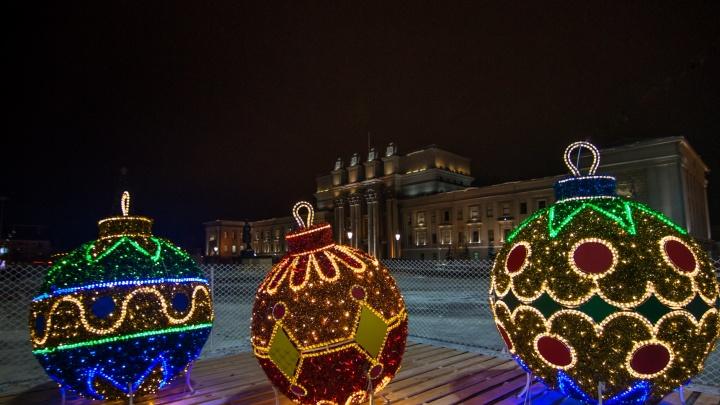Гигантские фонарики, шарики и матрешки: для Самары закупят новые украшения на 17 миллионов рублей