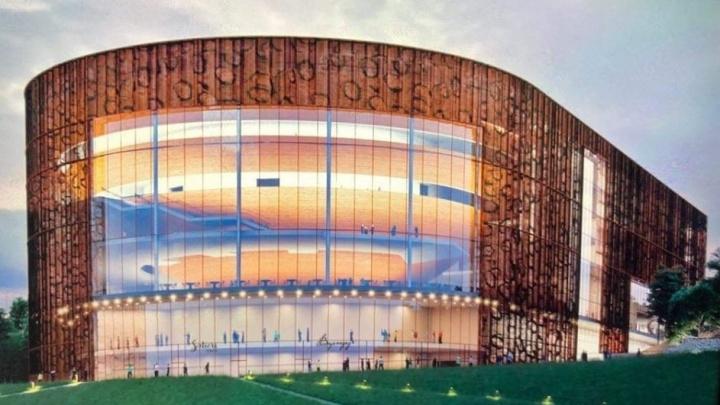 Леопардовые стены. В соцсети появились первые эскизы нового здания Пермского театра оперы и балета