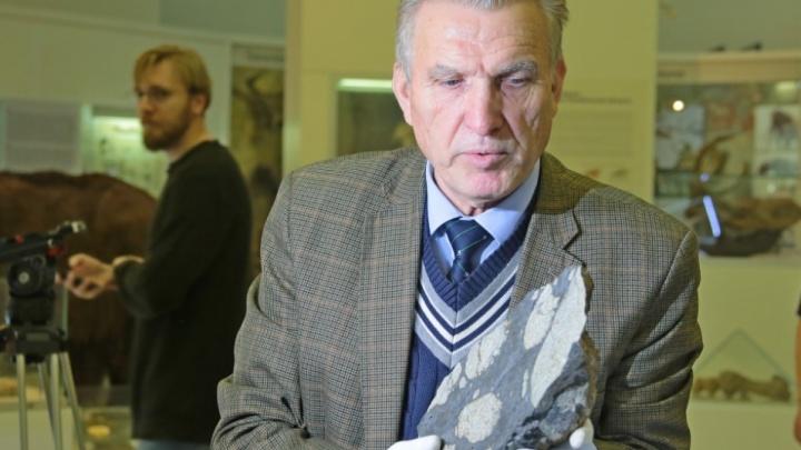 Подарок ко дню рождения: в музей Челябинска вернули украденный фрагмент метеорита