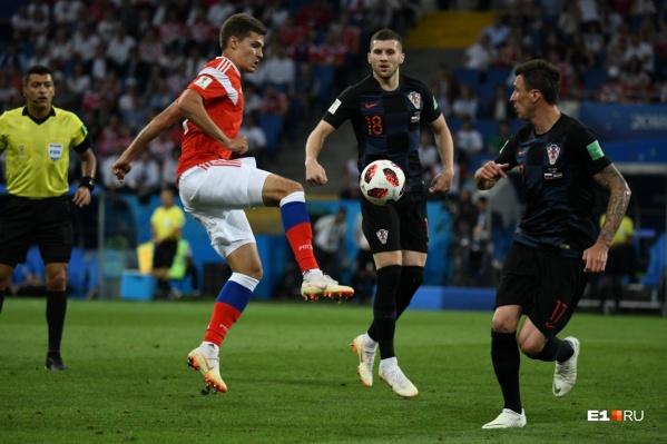 Хорваты вышли в полуфинал, обыграв сборную России