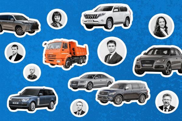 Как думаете, кому какая машина принадлежит?