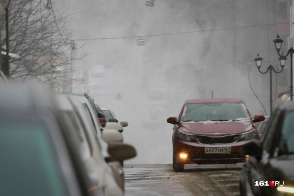 За парковку на Тургеневской с водителей требуют деньги