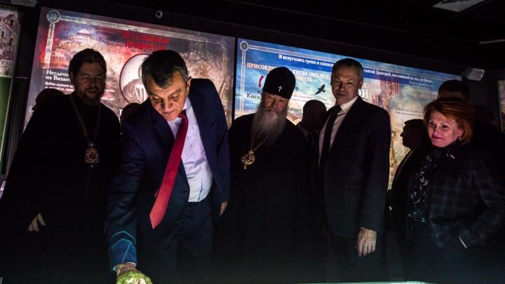 В Новосибирске открыли мультимедийный музей за полмиллиарда