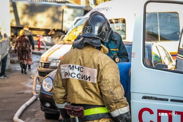 Оба пожара произошли из-за неосторожного обращения с огнем
