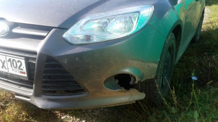 Полицейские установили водителя, скрывшегося с места смертельного ДТП в Башкирии