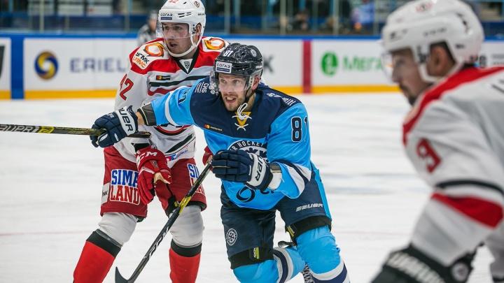 Опять не повезло:«Сибирь» проиграла пятую игру подряд