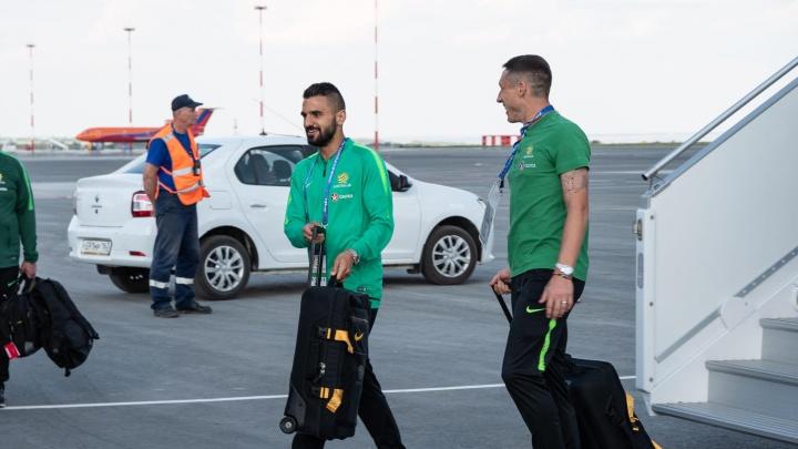 Австралийская сборная уже в Самаре: к нам прилетели Тим Кэхилл иМиле Единак