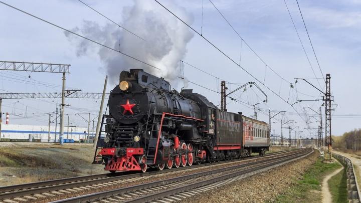 Экскурсионный паровоз будет возить пассажиров по Перми постоянно