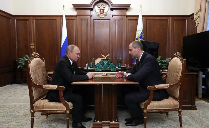 Путин сказал Паслеру о назначении во время рабочей встречи