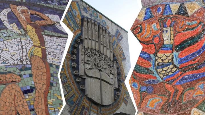 «Всё это — ручная работа»: как двое энтузиастов исследуют мозаичное наследие Архангельска