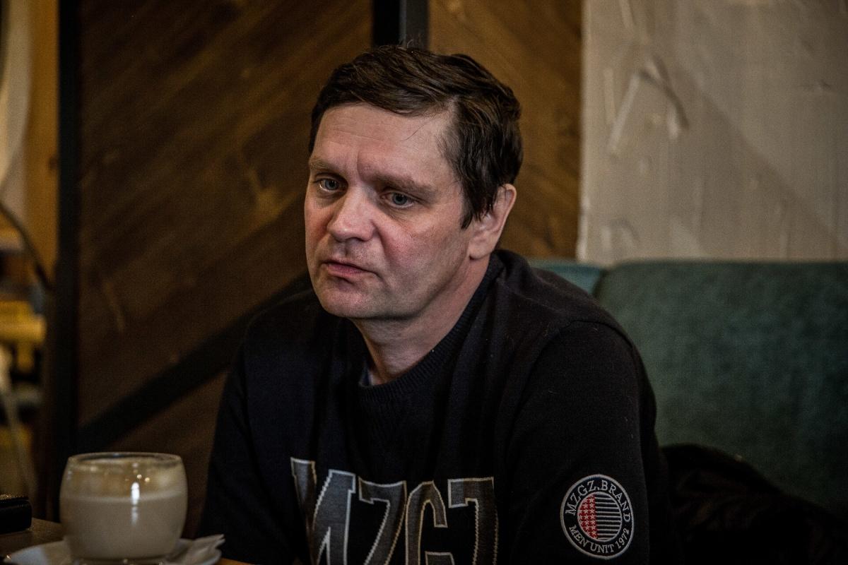 49-летний Игорь Сабадаш потерял в сгоревшем торговом центре 23-летнюю дочь Алёну