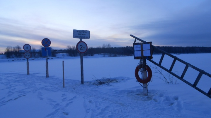 В Архангельской области открыли три переправы через Мезень