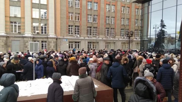 Новая волна «минирований» началась? В Екатеринбурге эвакуировали людей из здания мэрии